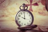 Antique pocket watch — Stock Photo