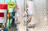 Fermentation tank detail — Stock Photo