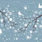 branches de neige — Vecteur #53213505
