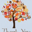Thank You Card — Stock Vector #56663981