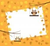 Fall Owl — Stock Photo