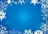 Sněhové vločky — Stock fotografie