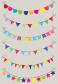 Bunting — Stock Vector