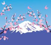 Cherry Blossom — Stok Vektör