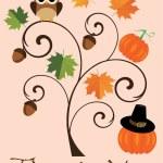 Fall Tree — Stock Vector #83091708