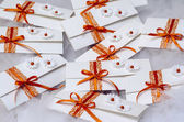 Wedding invitations — Stock Photo