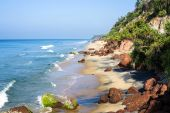 Varkala beach — Stock Photo