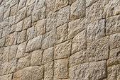 Stone wall in Mycenae — Стоковое фото