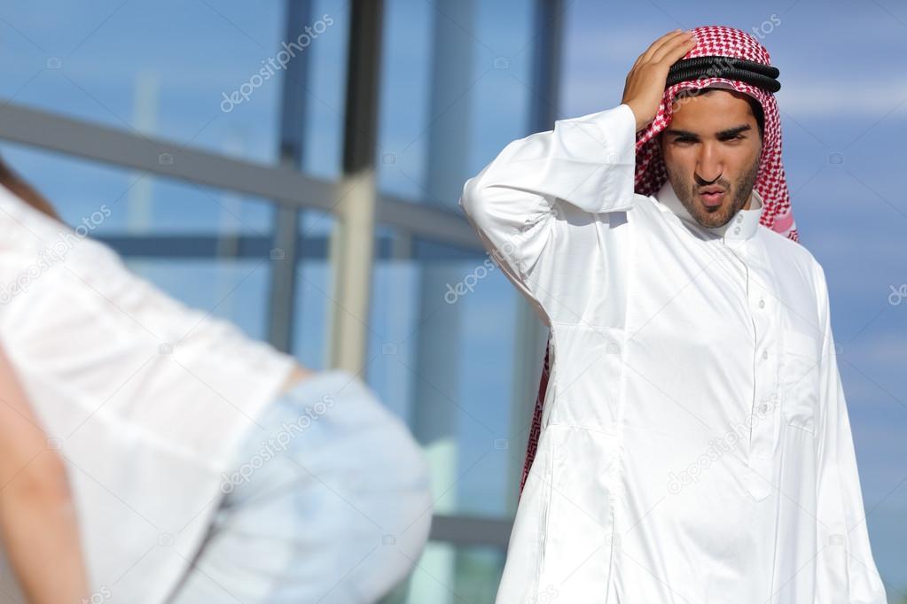 типичный араб фото