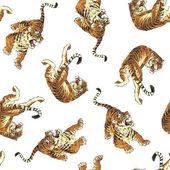 Pattern of tiger — Stock Vector