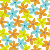 Blommönster — Stockvektor
