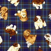 Pattern of dog — Stock Photo