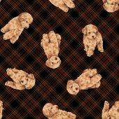 Mönster av hund — Stockfoto