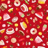 Pattern of cake — Стоковое фото