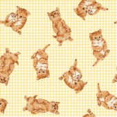 Pattern of cat — Stock Photo