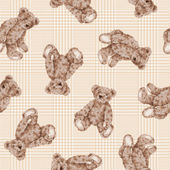 Pattern of bear — Foto de Stock