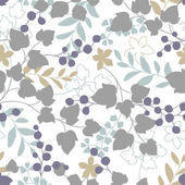 Pflanzen-Muster — Stockvektor