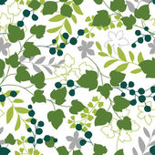 Plants pattern — Stock Vector