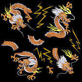 Dragón japonés — Foto de Stock