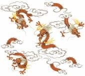 Dragão japonês — Fotografia Stock