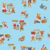 Pattern of rabbit — Zdjęcie stockowe