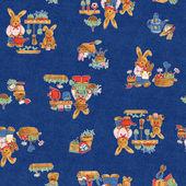 Pattern of rabbit — Stockfoto