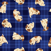 Dog pattern — Stock Photo