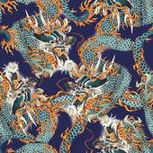 Dragon pattern — Stock Photo