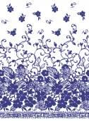 Blumenmuster — Stockvektor