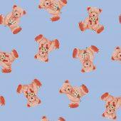 Pattern of bear — 图库照片