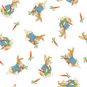 Pattern of rabbit — Stock Photo