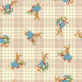 Pattern of rabbit — Stock Photo