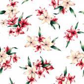 花的插图 — 图库照片
