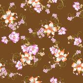 Lily pattern — Stock Photo