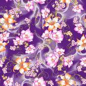 Lily patroon — Stockfoto