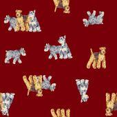 Pies wzór — Zdjęcie stockowe