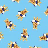 Padrão de cão — Fotografia Stock