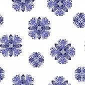 Hawaiian quilt, — Stock Vector