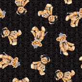 Bear pattern — Stock Photo