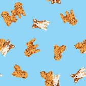 狗图案 — 图库照片