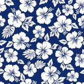 Modelo de la flor del hibisco — Vector de stock