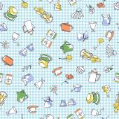 Tableware pattern — Stock Photo
