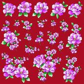 Flower illustration object — Stock Vector