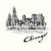 Chicago — Stock Vector