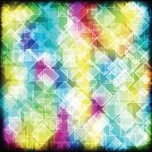 Colorful geometric background — Stock Vector