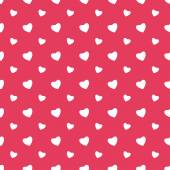 Seamless pattern with hearts for Valentine's Day — Stock Vector