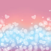 Background with hearts  for Valentine's Day  — Stock Vector