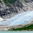 Nigardsbreen glacial arm at Jostedalsbreen National Park, Norway — Stock Photo #74091873