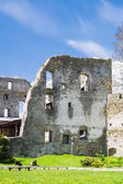 Ruined wall of Haapsalu Episcopal Castle, Estonia — Stock Photo