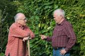 Two gardeners — Stock Photo